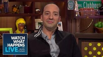 Tony Hale Talks Working With Liza Minnelli On Arrested Development WWHL