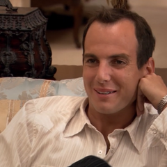 When Michael announces to the family that he's leaving, he tells G.O.B. to bail himself out next time, rather than coming to him and saying, <i>