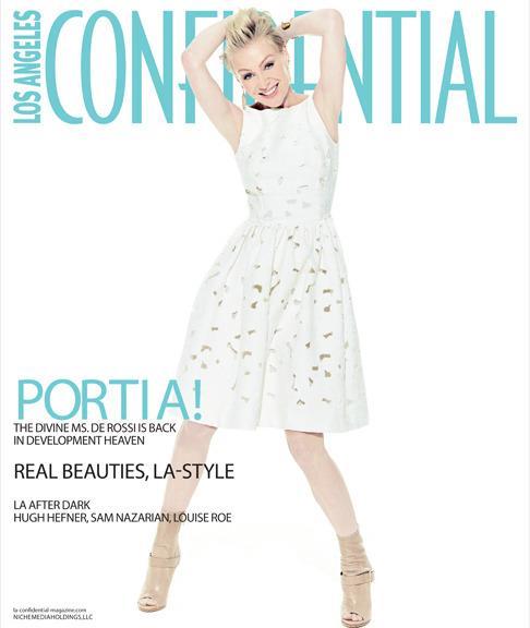 2013 LA Confidential Magazine - Portia de Rossi Cover 01