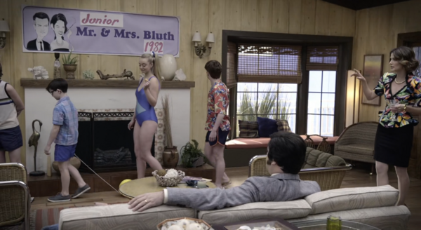 5x15 - Mr and Mrs Bluth Banner 1982