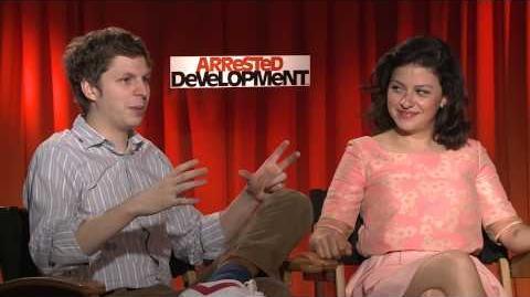 Arrested Development - Q&A with Jason Bateman, Michael Cera & Alia Shawkat