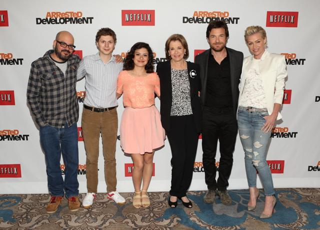 2013 Netflix Press Conference - Group 01