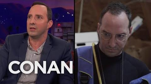 "Tony Hale Doesn't Know How To Explain This ""Arrested Development"" Clip - CONAN on TBS"
