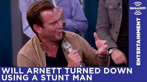 Will Arnett on turning down a stuntman + reveals details from second half of season 5
