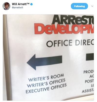 File:2017 Season 5 BTS (Will Arnett) - AD Writers Room 01.png
