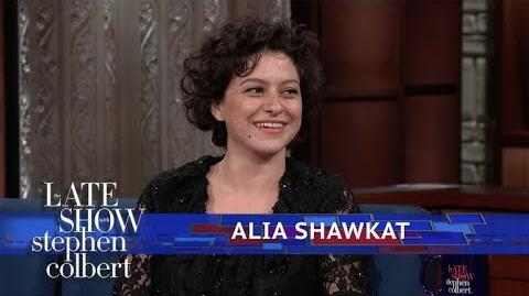 Alia Shawkat Shares Old 'Donald Trump' Drawings