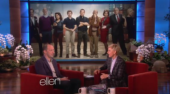 2014 The Ellen Show - Tony Hale (04-18-14) 01