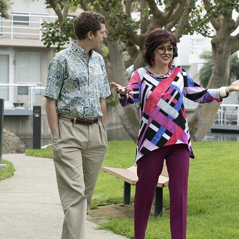Maeby from Arrested Development looks better in her old lady