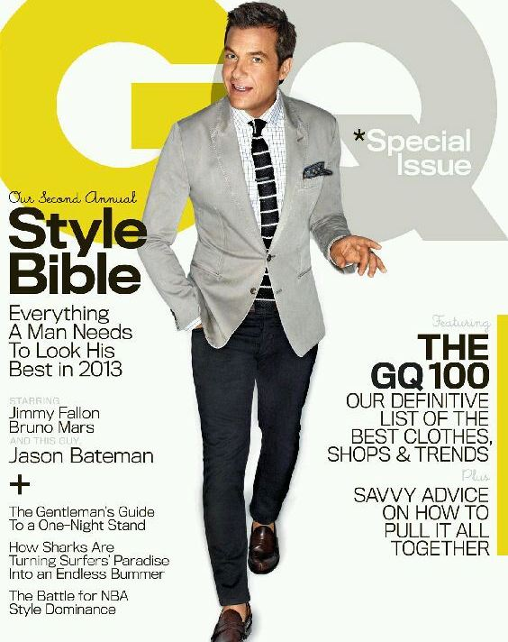2013 GQ Magazine - Jason Bateman Cover 01