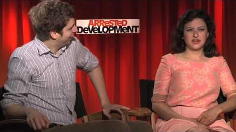 ARRESTED DEVELOPMENT-The Bluth's sit down with Andrew Freund to talk about the NEW season