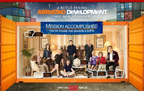 Arrested Development Season 4 Easter Egg Poster