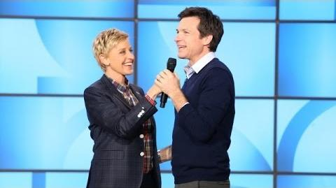 Exclusive! Ellen and Jason Bateman Say Goodbye