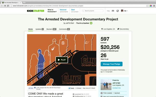 2013 The AD Documentary Project - Kickstarter
