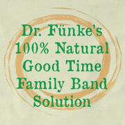 Dr. Funkes 100 percent Natural Good-Time Family-Band Solution logo