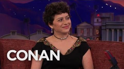 "Alia Shawkat On ""Arrested Development"" Season 5 - CONAN on TBS"