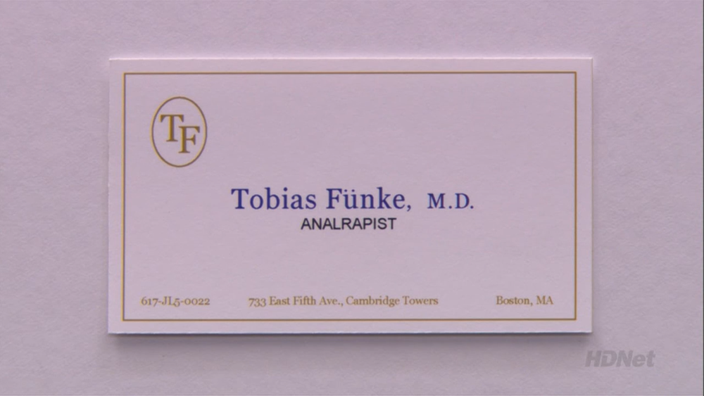 Analrapist | Arrested Development Wiki | FANDOM powered by Wikia