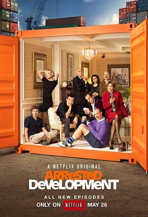 Season 4 Poster - Arrested Development 01
