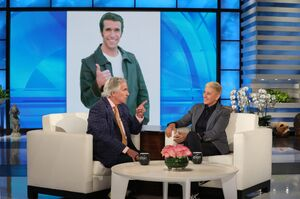 2019 AD on The Ellen Show - Henry Winkler 03