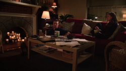Laurel Lance's apartment