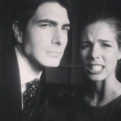 Sur le tournage de la saison 3 avec Emily