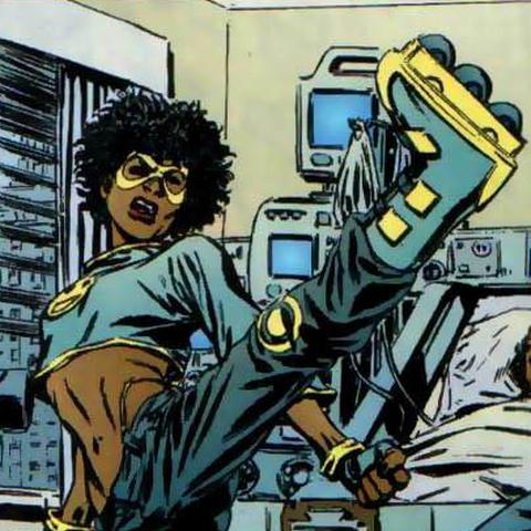 Inspiré du personnage comics Lashawn Baez <a  class=