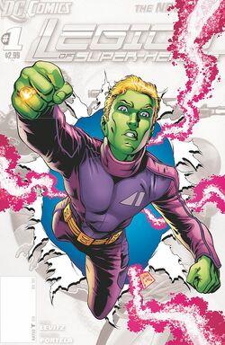 Legion of Super-Heroes Vol 7 0 Textless