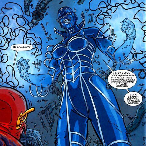 Amunet Black/Blacksmith dans les comics