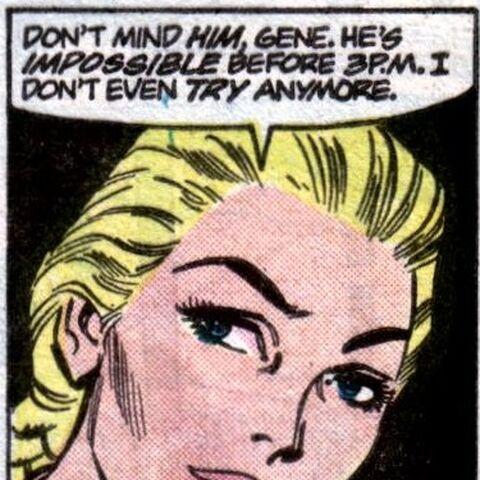 Lauren Haley dans les comics.
