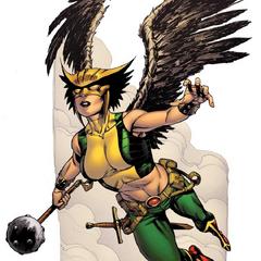 Hawkgirl dans les comics.