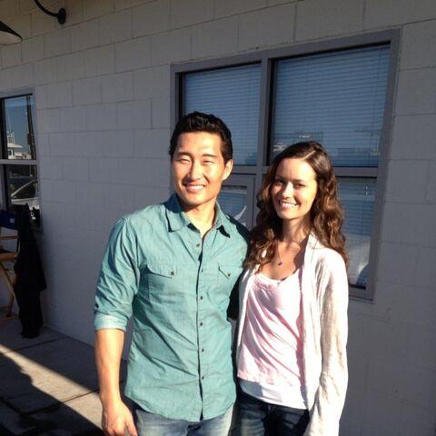 Avec Daniel Dae Kim sur <i>Hawaii 5-0</i>