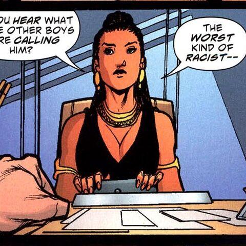 Sandra Monday Hawke dans les comics