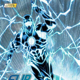 Future Flash dans les comics.