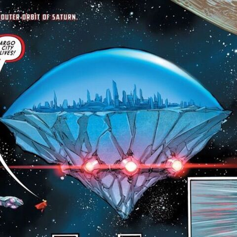 Argo City dans les comics