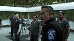 Diaz frees inmates to start a riot