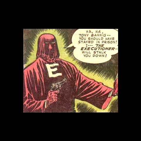 Willy Hooker alias l'Exécuteur dans les comics.