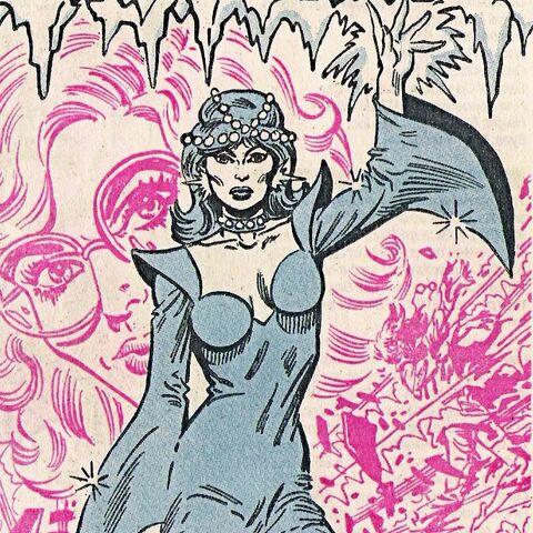 Crystal Frost dans les comics