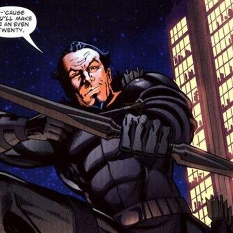 L'Archer Noir dans les Comics