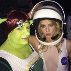 Avec Emily (Halloween 2014)