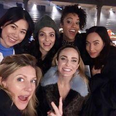Les femmes du cast