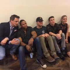 Au Comic Con 2014