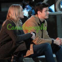 Sara et Barry (épisode LOT 5/5) Discutent-ils après la mort d'Oliver? Car normalement c'était souvent Oliver et Barry en fin de crossover. Mais quelque chose se passe encore après.