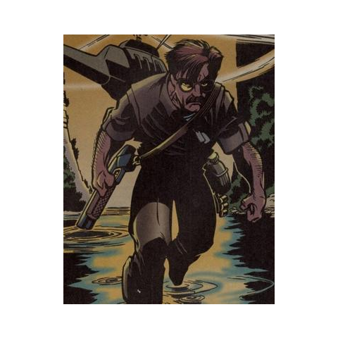 Edward Fyers dans les comics.