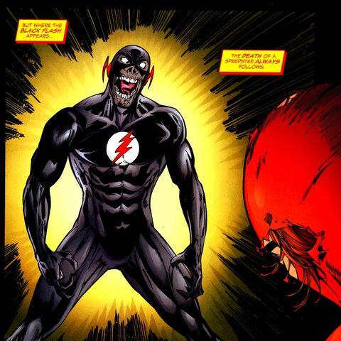 Black Flash dans les comics