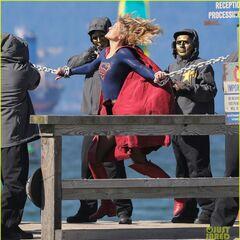 Supergirl contre l'armée de l'agent Liberty