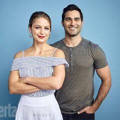 Comic Con 2016 les acteurs de Supergirl & Superman