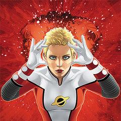 Saturn Girl dans les comics