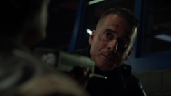 Diaz holds a guard hostage