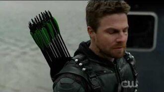 "Arrow 5x23 ""Lian Yu"" Ending Scene Island Explodes & Prometheus Kills Himself & Kills Team Arrow"