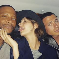 Avec David & Willa à Paris (juin 2015)