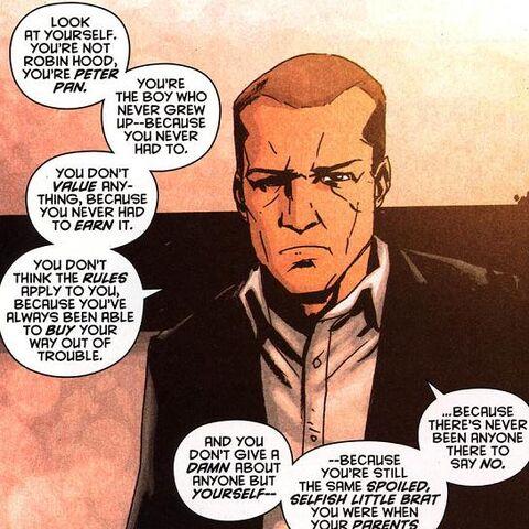 Hackett dans les comics.